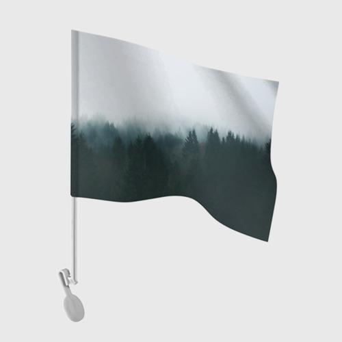 Флаг для автомобиля Лес Фото 01