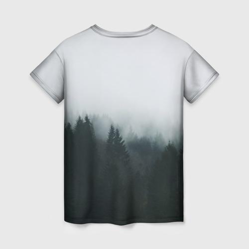 Женская футболка 3D Лес Фото 01