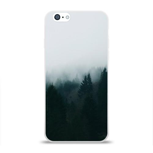 Чехол для Apple iPhone 6 силиконовый глянцевый Лес Фото 01