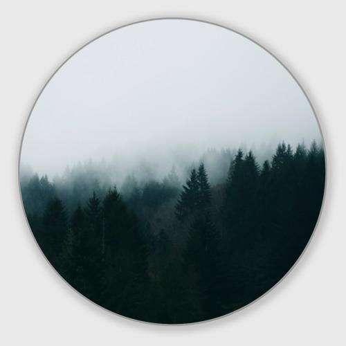 Коврик для мышки круглый Лес Фото 01