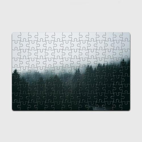 Пазл магнитный 126 элементов Лес Фото 01