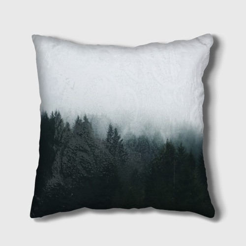 Подушка 3D Лес Фото 01