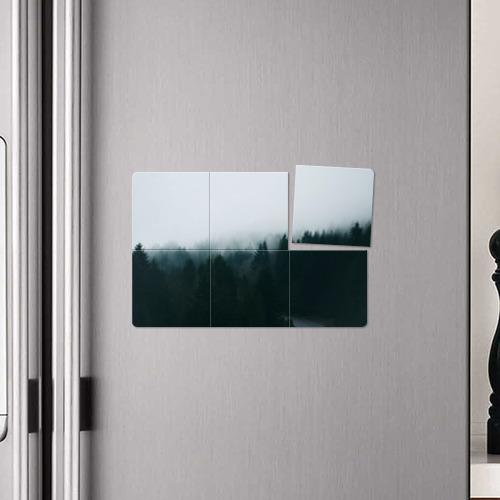 Магнитный плакат 3Х2 Лес Фото 01