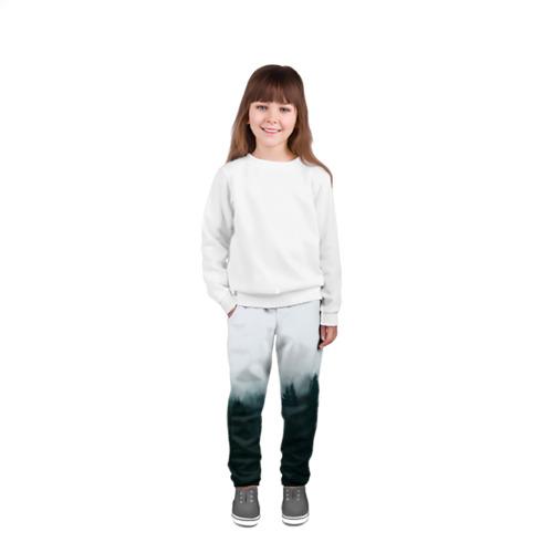 Детские брюки 3D Лес Фото 01