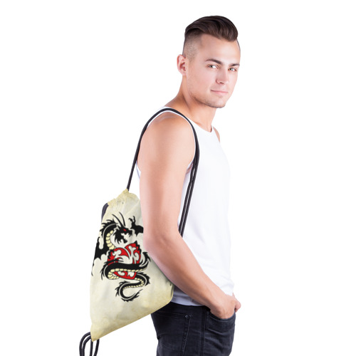 Рюкзак-мешок 3D  Фото 03, Покоритель сердец