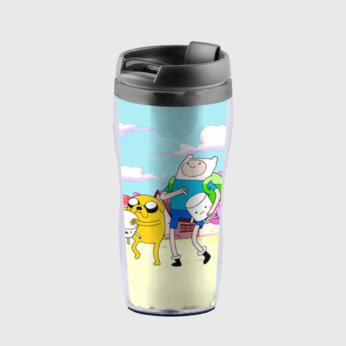 Термокружка-непроливайка  Фото 01, Adventure Time 11