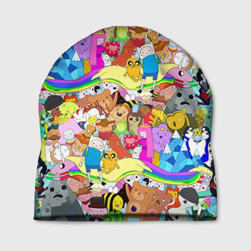 Шапка 3D Adventure Time 10