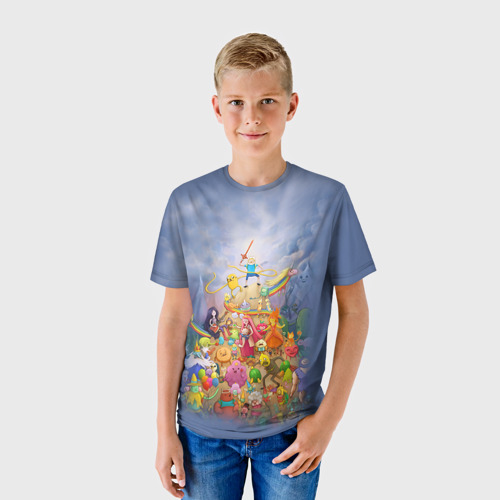 Детская футболка 3D Adventure Time 8