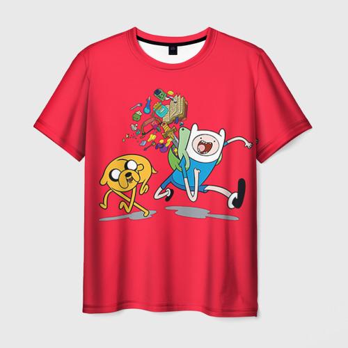 Мужская футболка 3D  Фото 01, Adventure Time