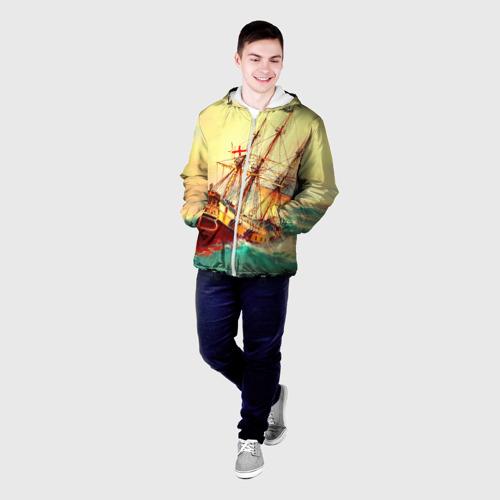 Мужская куртка 3D  Фото 03, Парусник