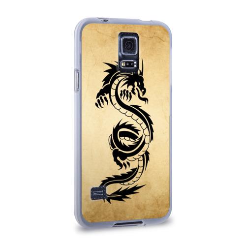 Чехол для Samsung Galaxy S5 силиконовый  Фото 02, Убийственный змей