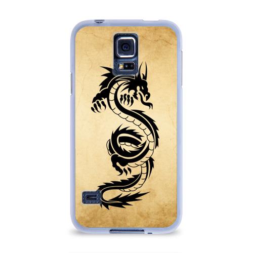 Чехол для Samsung Galaxy S5 силиконовый  Фото 01, Убийственный змей