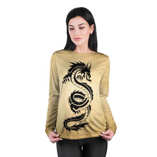 Женский лонгслив 3D для беременных  Фото 04, Убийственный змей
