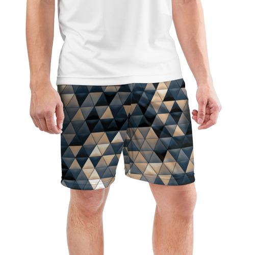 Мужские шорты 3D спортивные  Фото 03, Мозаика 4
