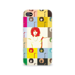 Чехол для Apple iPhone 4/4S 3DPop Art Jim Morrison The Doors