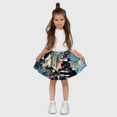 Детская юбка-солнце 3D  Фото 03, Броненосец
