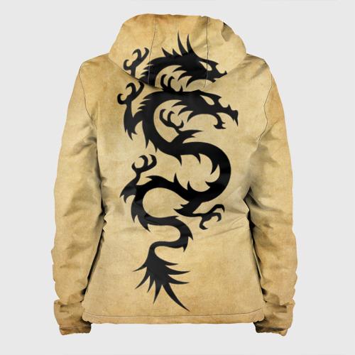 Женская куртка 3D  Фото 02, Ужасный змей