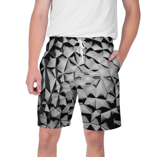 Мужские шорты 3D  Фото 01, Чёрная мозаика