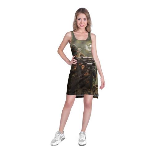 Платье-майка 3D  Фото 03, ВДВ