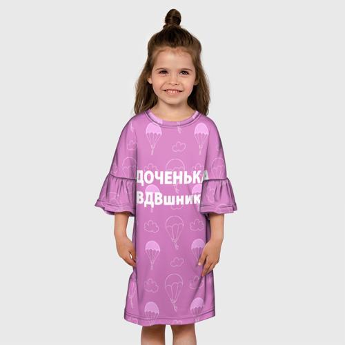 Детское платье 3D