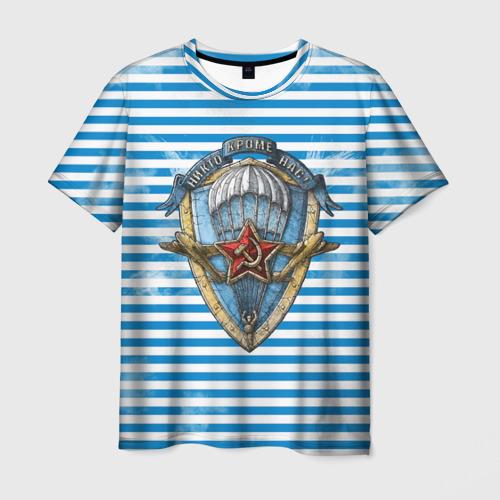 Мужская футболка 3D ВДВ
