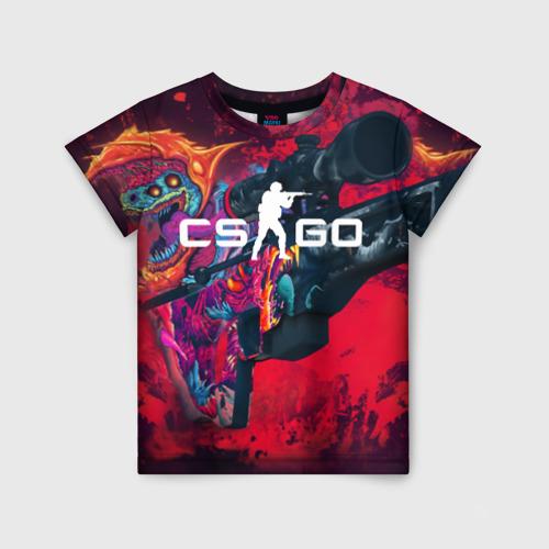 Детская футболка 3D CS GO Фото 01