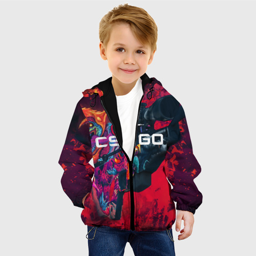 Детская куртка 3D CS GO Фото 01