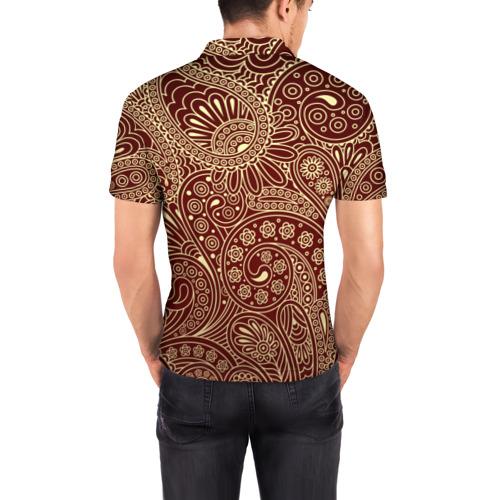 Мужская рубашка поло 3D  Фото 04, Paisley