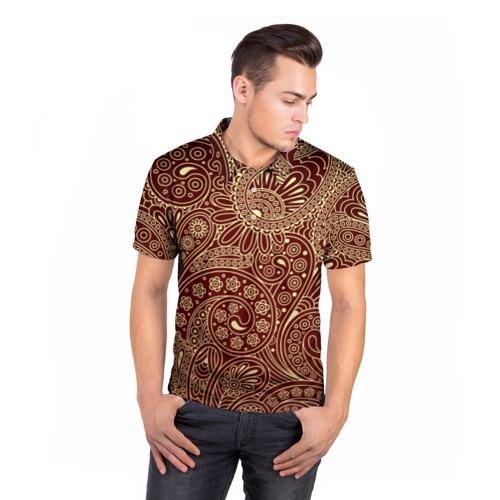Мужская рубашка поло 3D  Фото 05, Paisley