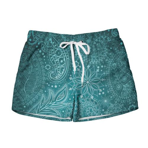 Женские шорты 3D Paisley