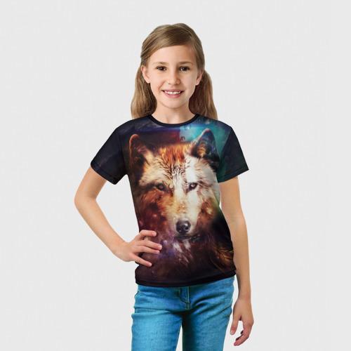 Детская футболка 3D Волк Фото 01