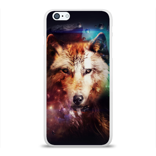Чехол для iPhone 6Plus/6S Plus глянцевый Волк Фото 01
