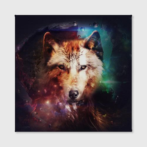 Холст квадратный  Фото 02, Волк