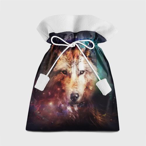 Подарочный 3D мешок Волк Фото 01