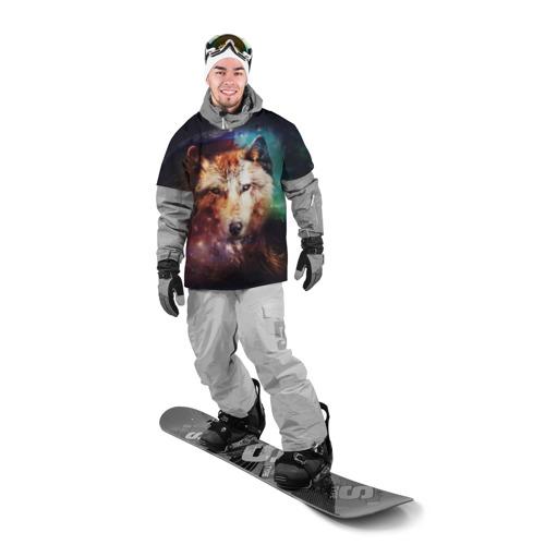 Накидка на куртку 3D Волк Фото 01