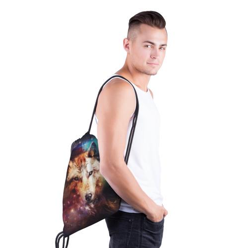 Рюкзак-мешок 3D Волк Фото 01