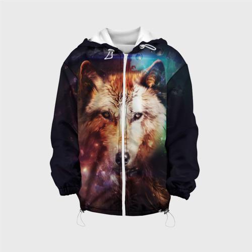 Детская куртка 3D Волк Фото 01