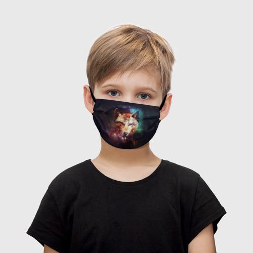 Детская маска (+5 фильтров) Волк Фото 01