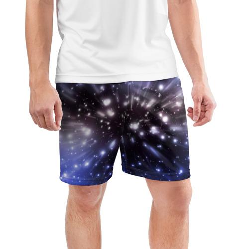 Мужские шорты 3D спортивные  Фото 03, Звёздный космос