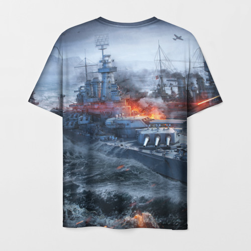 Мужская футболка 3D Корабли Фото 01