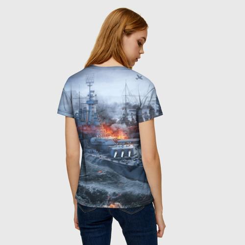 Женская футболка 3D Корабли Фото 01