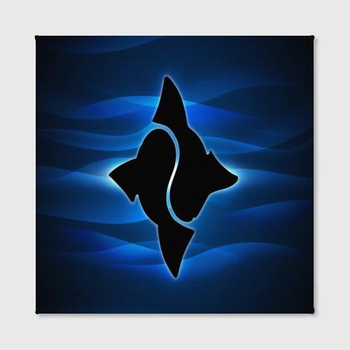 Холст квадратный  Фото 02, Рыбак