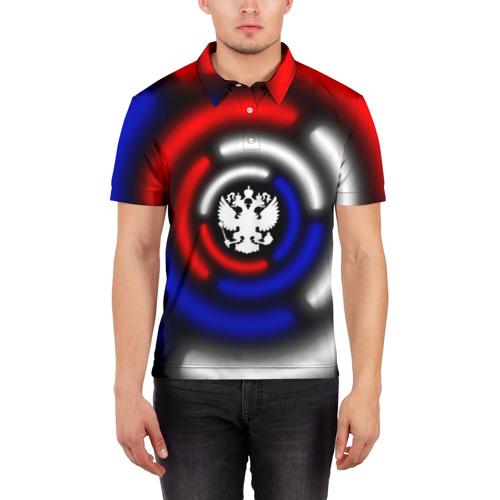 Мужская рубашка поло 3D  Фото 03, Россия