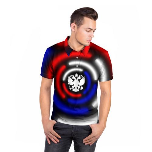 Мужская рубашка поло 3D  Фото 05, Россия