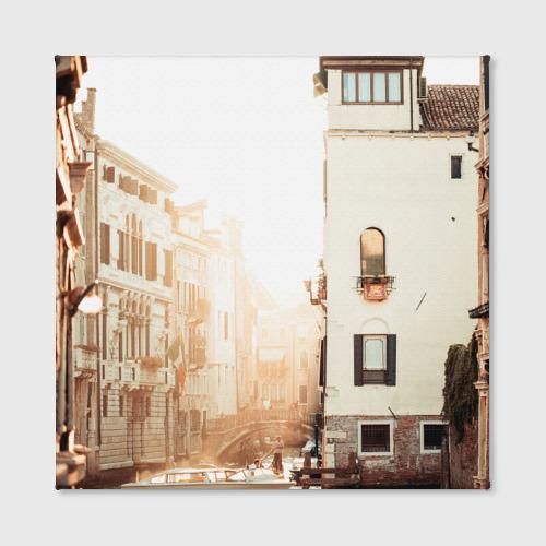 Холст квадратный  Фото 02, Венеция