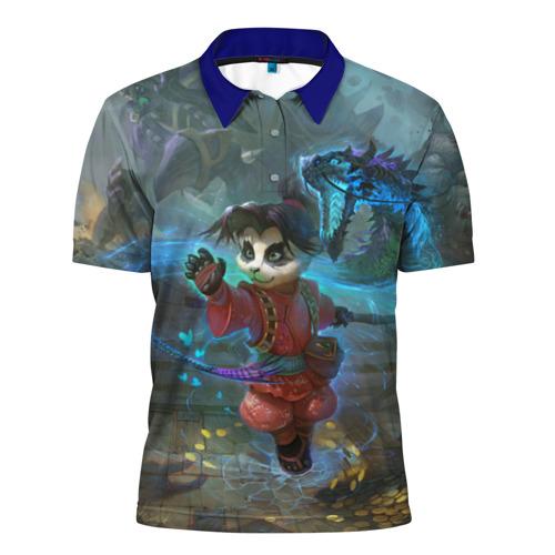 Мужская рубашка поло 3D  Фото 01, World of Warcraft