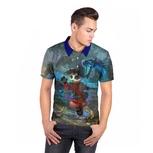 Мужская рубашка поло 3D  Фото 05, World of Warcraft
