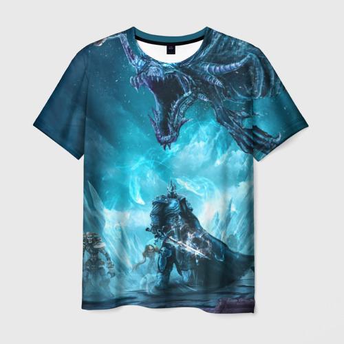 Мужская футболка 3D WarCraft Фото 01