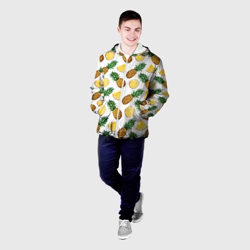 Мужская куртка 3D  Фото 03, Ананасы 6