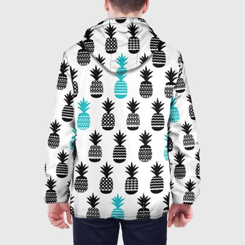 Мужская куртка 3D Ананасы 7 Фото 01